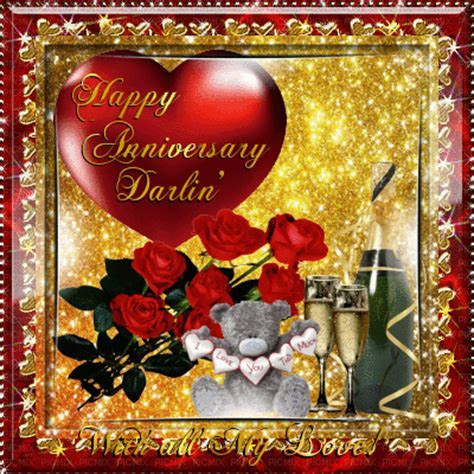 Happy Anniversary Darling Pictures, Photos, and Images for