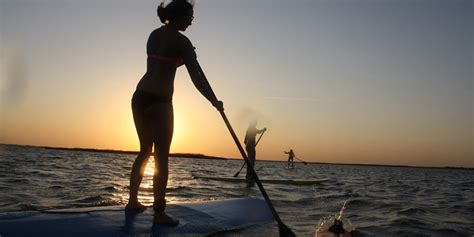 Banks Stands Up For by Outer Banks Great For Stand Up Paddleboarding Hawk
