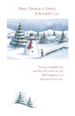 youre  wonderful son greeting card christmas printable card american