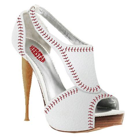 Kaos Baseball Chicago herstar s baseball high heel atlanta braves