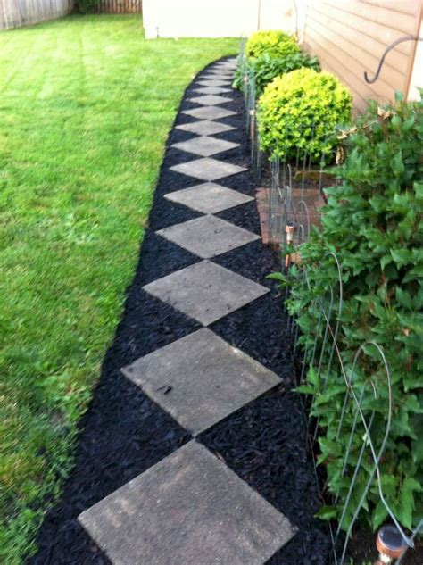 the 25 best front yard walkway ideas on pinterest front sidewalk ideas yard landscaping and
