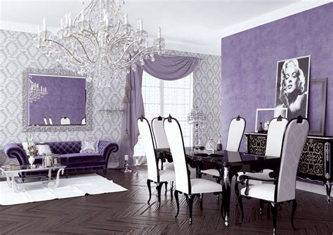 purple living room decor for your home decor ideas