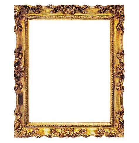 cornice rettangolare in legno quot francesina quot oro 60x80 cm