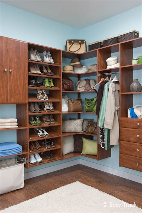 Easy Track Closet Organizers by Display And Organize Your Shoes And Handbags Easy Track