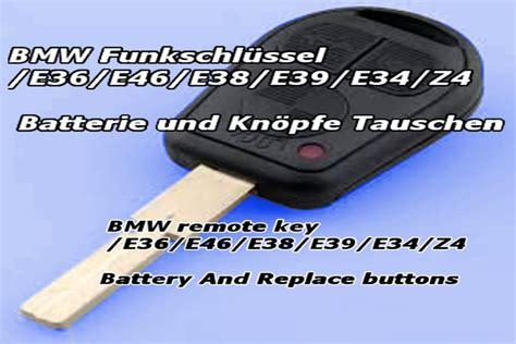 Bmw 1er Schlüssel Batterie Wechseln Anleitung by Bmw Fernbedienung Batterie Wechseln Auto Bildideen