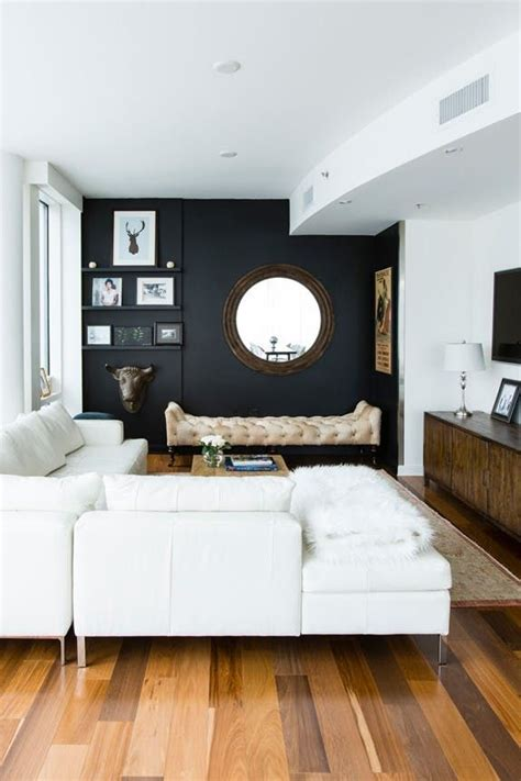 high contrast  design trick   small spaces