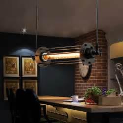Kitchen Bar Light Fixtures Lukloy Industrial Retro Vintage Chandelier Flute Light Pendant Fixtures L Shade For Kitchen