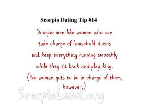 Scorpio man dating gemini woman