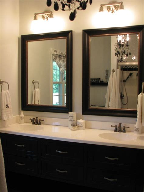 mirrors 2 bathroom scene 25 best ideas about brown mirrors on pinterest