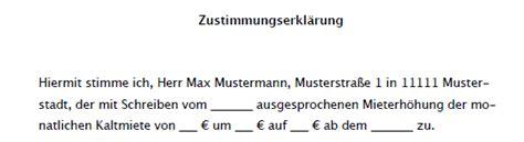 Musterschreiben Wegen Gehaltserhöhung Vertrag Vorlage Digitaldrucke De Zustimmungserkl 228 Rung