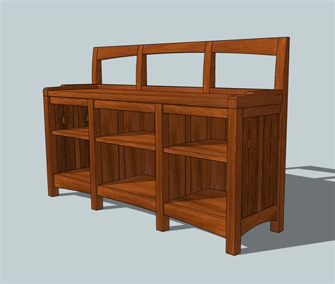 bench bookshelf bookcase design free download bench construction plans