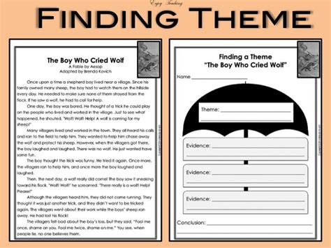 themes in literature test 7 identifying theme worksheets 5th grade find the meaning