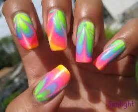 neon nail art designs acrylic nail designs