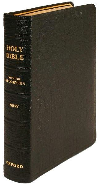nrs bible the new revised standard version bible with apocrypha