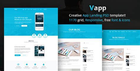 30 App Website Templates Free Website Design Templates Product Promotion Website Templates