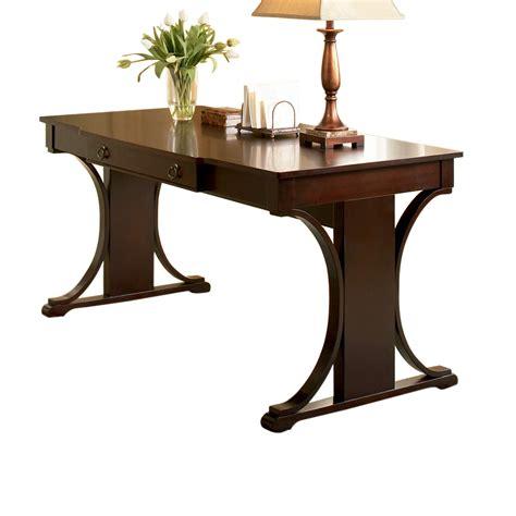 coaster fine furniture writing desk shop coaster fine furniture dark cherry writing desk at