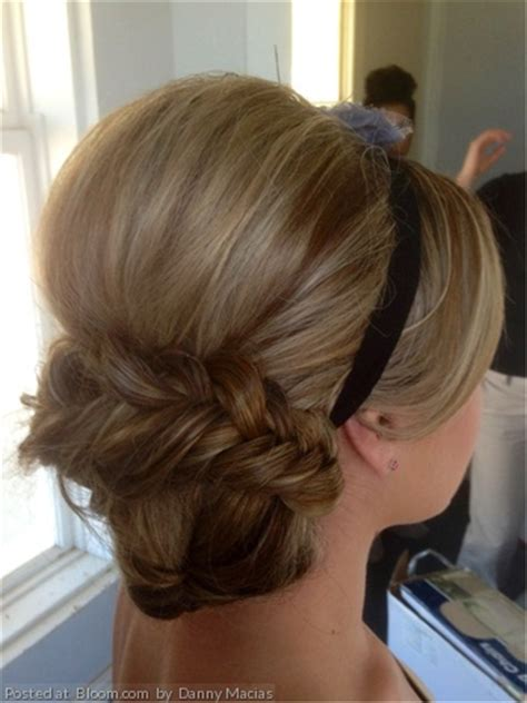 elegant hairstyles bump by danny macias bridal up do for portraits