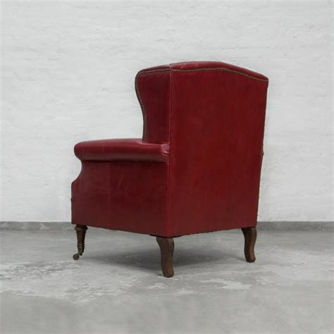 wing back armchairs wing back leather armchair