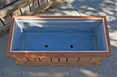 Planter Box Liners by Cedar Planter Box Liners Woodworking Projects Plans