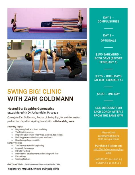optimal swing clinic 17 best images about gymnastics on pinterest gymnasts