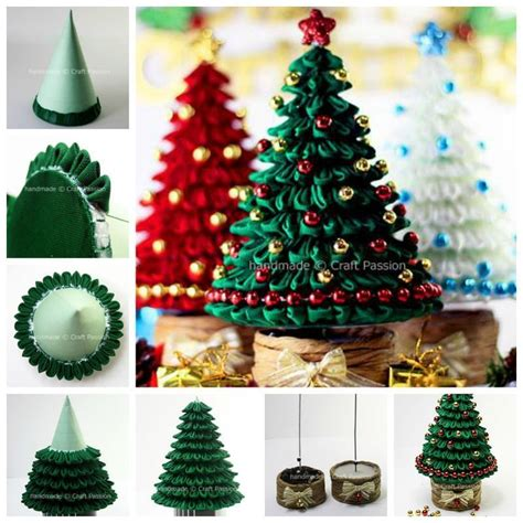 christmas tree decorating tips tricks diy and crafts creative ideas diy ribbon kanzashi christmas tree