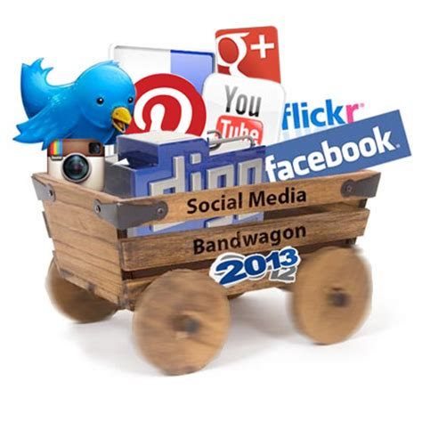 Kaos Social Media Wagon band wagon ads