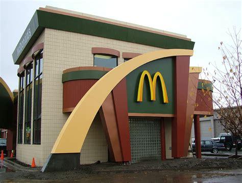 mcdonald designer mcdonald s exterior restaurant design by i 5 design