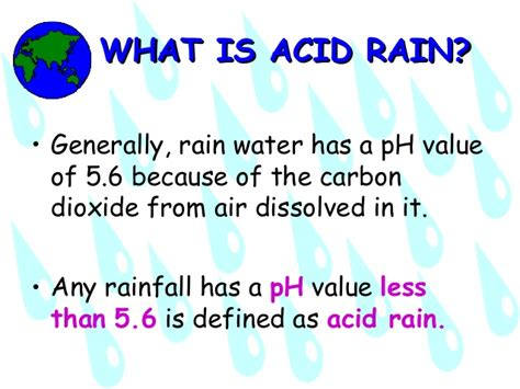 Ppt Of Acid Acid Rain Powerpoint Presentation 1