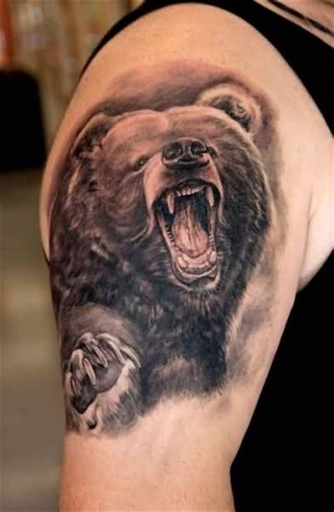 tattoo family bear 1000 ideas about grizzly bear tattoos on pinterest