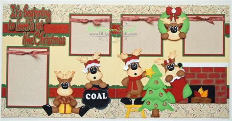 scrapbook layout christmas blj graves studio christmas scrapbook layout