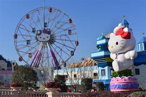 hello kitty theme park hello kitty park park world online theme park