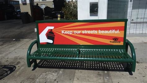 advertising bench god hates people who hate people and san francisco the