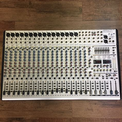 Mixer Behringer Sl2442fx behringer eurodesk sl2442fx pro 24 input 4 mixer with