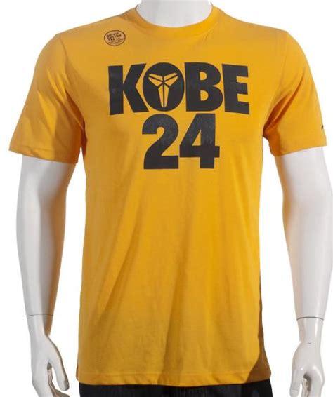 kobe pattern shirt nike kobe bryant 24 pattern size 2xl new mens yellow