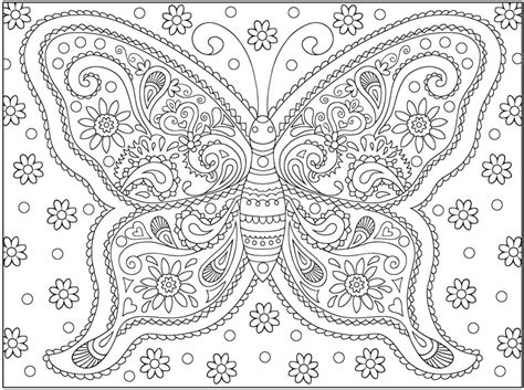 H Coloring Pages For Adults by Printable Butterfly Coloring Pages Trend Within For Adults