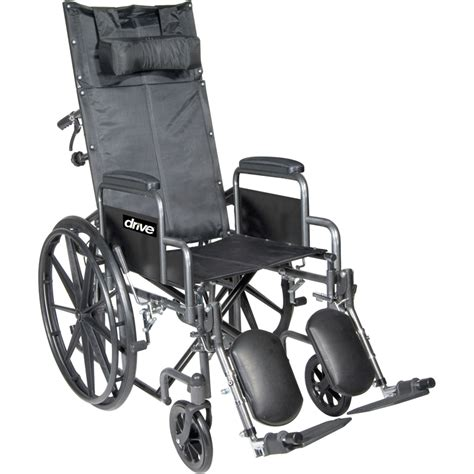 drive reclining wheelchair drive silver sport full reclining wheelchair parts