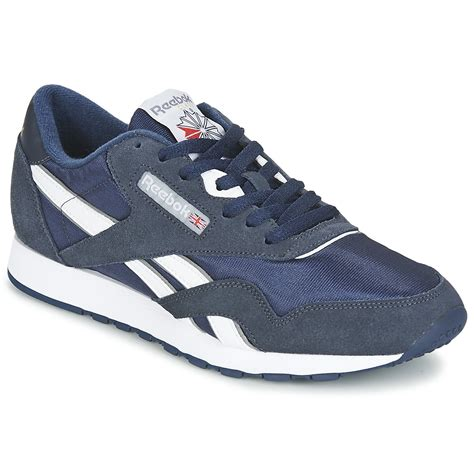 Reebok Blue Sz 42 Insole 27cm low top trainers reebok classic cl blue shoes 55 00