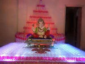 Home Decoration For Ganesh Festival by Ganesh Chaturthi Decoration Ideas Ganesh Pooja Decor