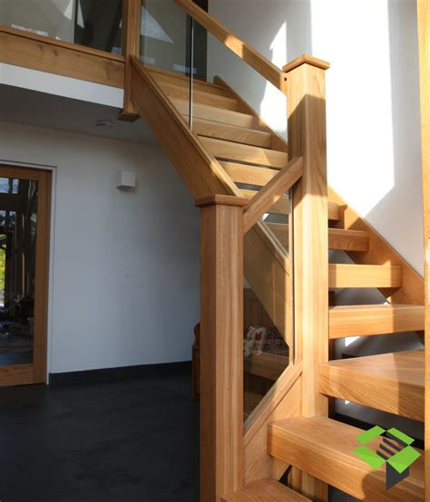 stair cases open plan oak and glass staircase stairbox staircases