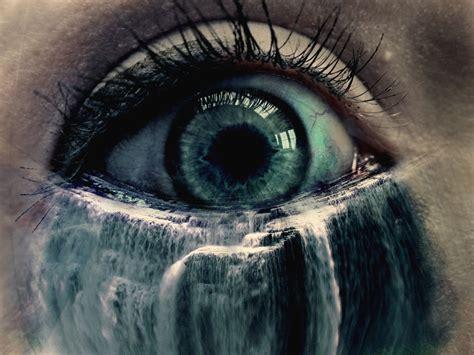 Tears Drop Is A Waterfall eye waterfall by wlaban on deviantart