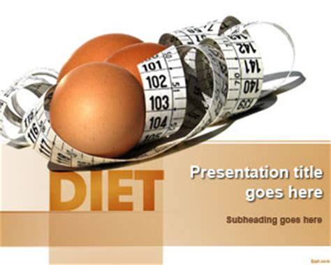 Diet And Nutrition Powerpoint Template Ppt Template Free Nutrition Powerpoint Templates