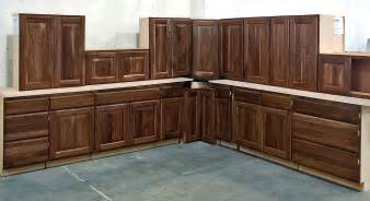 Walnut Cabinets by Featured Kitchens Bargain Hunt Cabinets