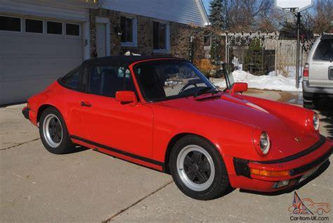 1986 porsche targa 1986 porsche 911 carrera targa