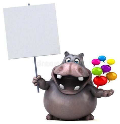 Hippo Nave hippo stock illustratie illustratie bestaande uit nave
