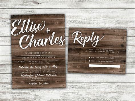 rustic wedding invitations affordable rustic country wedding invitations set printed cheap burlap kraft wood affordable woodsy