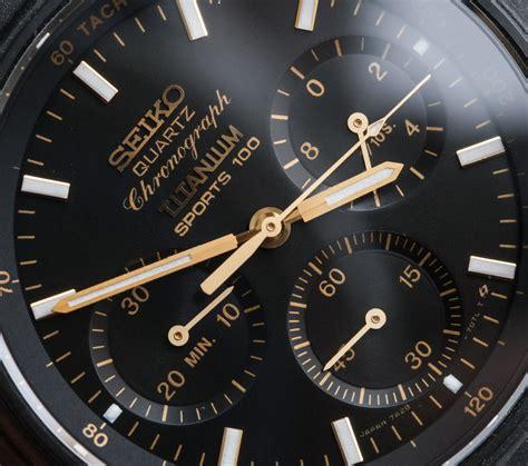 seiko sports 100 7a28 analog quartz chronograph