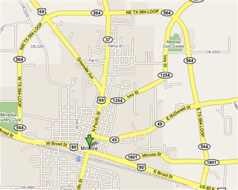 mineola texas map mineolalive mineola texas