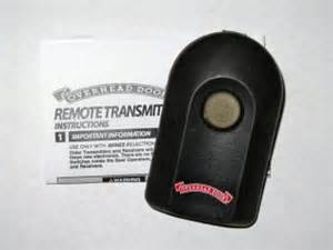 Overhead Door Acscto Type 1 Overhead Door Model Tbsto Type 1 Garage Door Opener Remote