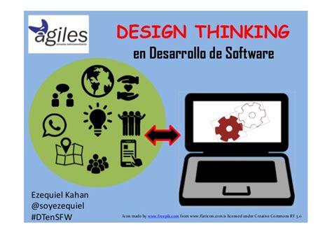 design thinking software design thinking y desarrollo de software agiles 2015