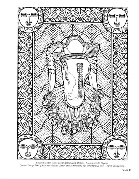 african patterns coloring pages free coloring pages of african pattern